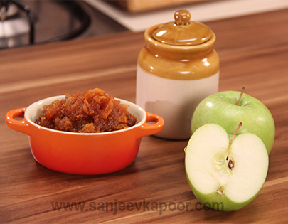 Apple Pickle Turban Tadka FoodFood