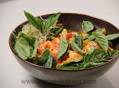 Baked Eggs Sanjeev Kapoor Kitchen FoodFood