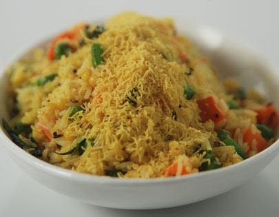 Bhaat With Sev Sanjeev Kapoor Kitchen FoodFood