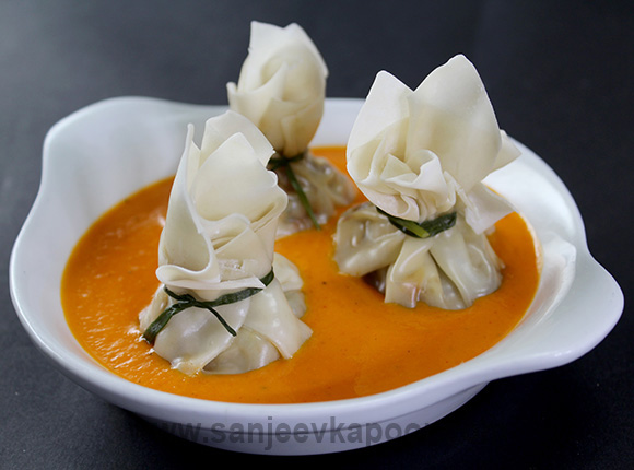 Butter Chicken Dumplings