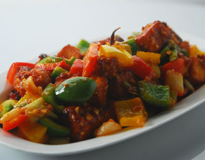 Chilli Paneer Sanjeev Kapoor Kitchen FoodFood