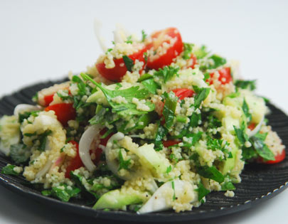 Couscous Tabbouleh Sanjeev Kapoor Kitchen FoodFood