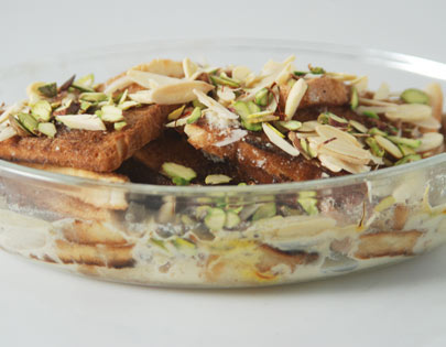 Double Ka Meetha Sanjeev Kapoor Kitchen FoodFood