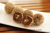 Dry Fruits And Khajoor Laddoo