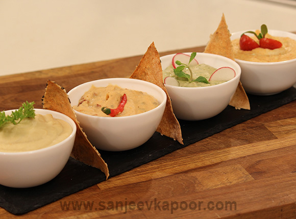 Flavours of Hummus