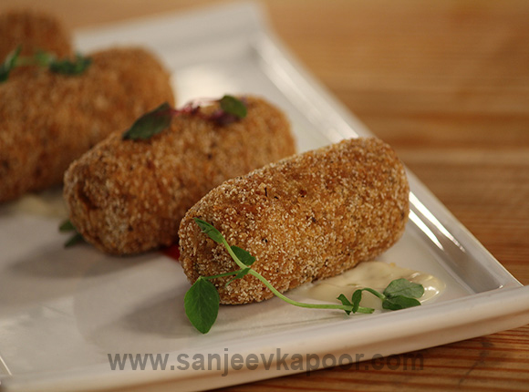 Indian Style Fish Croquettes