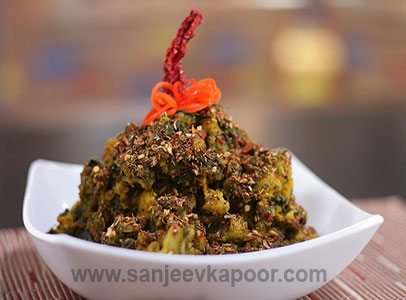 Kadai Gobhi Methi Palak Turban Tadka FoodFood