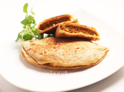 Keema Parantha Turban Tadka FoodFood
