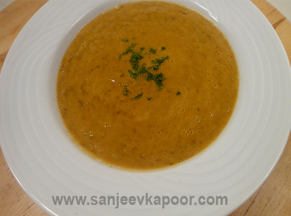 Lentils and Vegetable Soup