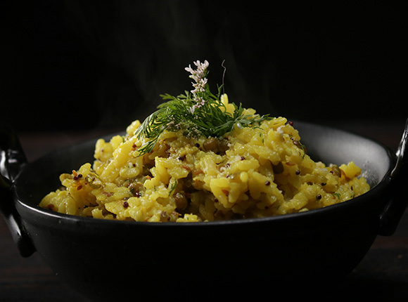 Moong Khichdi Risotto