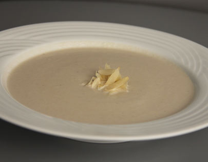 Mushroom And Almond Soup