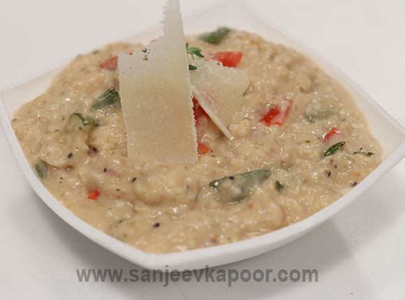 Oats-and-Grilled-Vegetable-Porridge