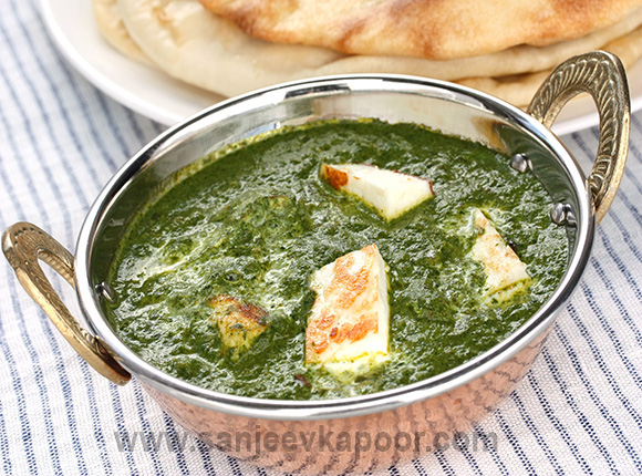 Palak Paneer khazana of indian recipe