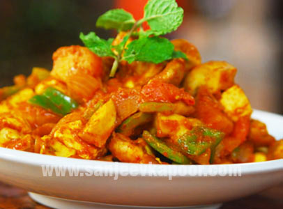 Paneer Mushroom Sanjeev Kapoor Kitchen FoodFood