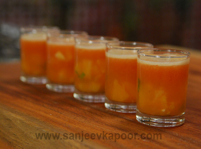 Party Fruit Punch Sanjeev Kapoor Kitchen FoodFood