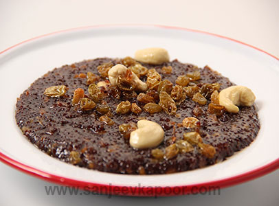 Ragi Sweet Pongal Sanjeev Kapoor Kitchen FoodFood