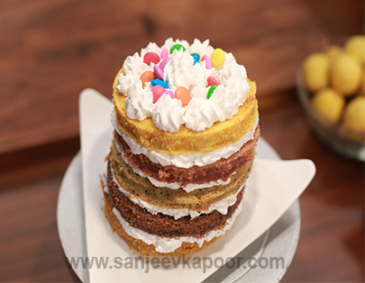 Rainbow Cake Mummy Ka Magic FoodFood