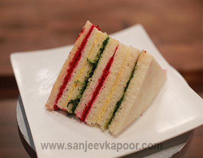 Rainbow Sandwich Mummy Ka Magic FoodFood
