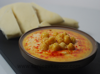 Red Pepper Hummus Sanjeev Kapoor Kitchen FoodFood