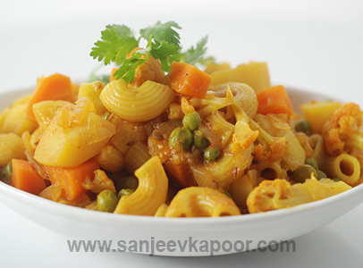 Sabziwala Pasta Sanjeev Kapoor Kitchen FoodFood