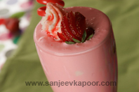 Strawberry Milk Shake Fun Food For Fussy Kids