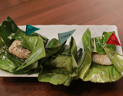 Three Style Fish Parcels Mummy Ka Magic FoodFood
