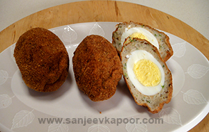Fishy Scotch Eggs